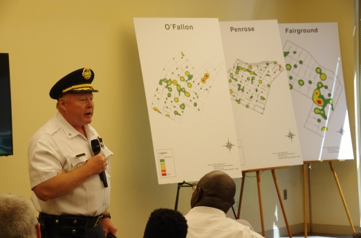 Acting St. Louis Police Chief Lt. Col. Lawrence O'Toole