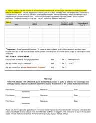 Choice Neighborhood Home Repair Application pg. 3
